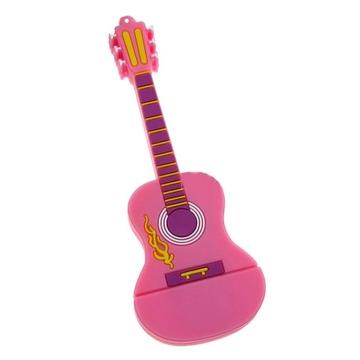 Оригинальная подарочная флешка Present GTR10 08GB Pink (гитара, без блистера)