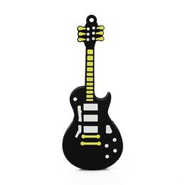 Оригинальная подарочная флешка Present GTR12 16GB Black (гитара Hard Rock)