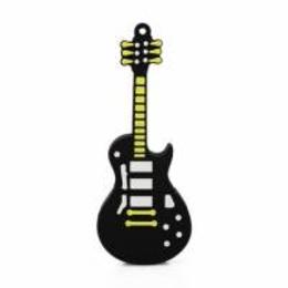 Оригинальная подарочная флешка Present GTR12 04GB Black (гитара Hard Rock)