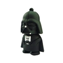 Оригинальная подарочная флешка Present MEN13 64GB Black (Дарт Вейдер)