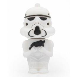 Оригинальная подарочная флешка Present MEN14 08GB White (Клон из звездных войн)