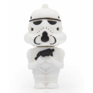 Оригинальная подарочная флешка Present MEN14 32GB White (Клон из звездных войн)
