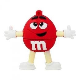 Оригинальная подарочная флешка Present MEN21 64GB Red (фигурка m&m)