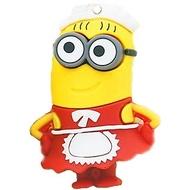 Оригинальная подарочная флешка Present MEN23 32GB Red (миньон девочка, без блистера)