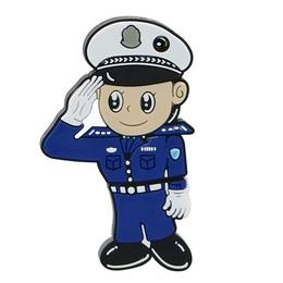 Оригинальная подарочная флешка Present MEN53 04GB (полицейский)