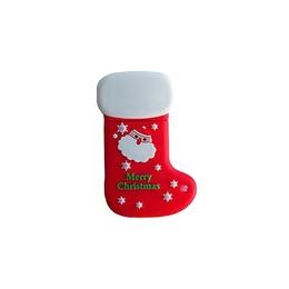 Оригинальная подарочная флешка Present NYP003 08GB (новогодний носок, merry christmas, в блистере)