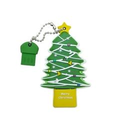Оригинальная подарочная флешка Present NYR010 16GB (флешка ёлка, в блистере)