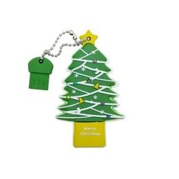 Оригинальная подарочная флешка Present NYR010 04GB (флешка ёлка, в блистере)