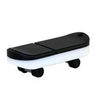 Оригинальная подарочная флешка Present ORIG03 128GB Black White (флешка скейтборд)