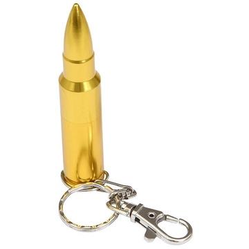 Оригинальная подарочная флешка Present ORIG06 04GB Gold (флешка пуля для АКМ)