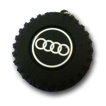Оригинальная подарочная флешка Present ORIG100 08GB (колесо с логотипом AUDI, без блистера)