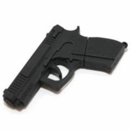 Оригинальная подарочная флешка Present ORIG101 04GB Black (пистолет ПМ)