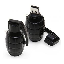Оригинальная подарочная флешка Present ORIG113 16GB Black (граната лимонка)
