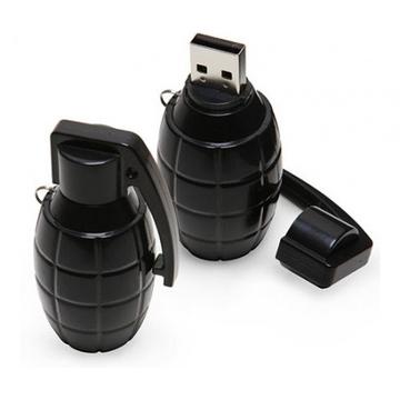 Оригинальная подарочная флешка Present ORIG113 16GB Black (граната лимонка, без блистера)