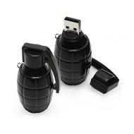 Оригинальная подарочная флешка Present ORIG113 64GB Black (граната лимонка, без блистера)