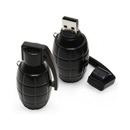 Оригинальная подарочная флешка Present ORIG113 08GB Black (граната лимонка, без блистера)