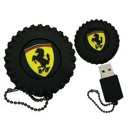 Оригинальная подарочная флешка Present ORIG116 8GB (колесо с логотипом Ferrari, без блистера)