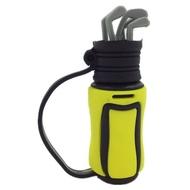 Оригинальная подарочная флешка Present ORIG128 128GB Yellow (клюшки для гольфа)