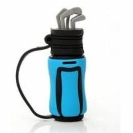 Оригинальная подарочная флешка Present ORIG128 04GB Blue (клюшки для гольфа)