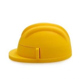 Оригинальная подарочная флешка Present ORIG144 04GB Yellow (строительная каска)