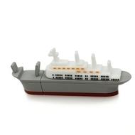 Оригинальная подарочная флешка Present ORIG152 128GB (корабль)