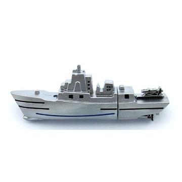 Оригинальная подарочная флешка Present ORIG153 16GB Silver (корабль, без блистера)