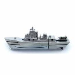 Оригинальная подарочная флешка Present ORIG153 04GB Silver (корабль)