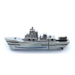 Оригинальная подарочная флешка Present ORIG153 64GB Silver (корабль)