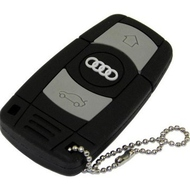 Оригинальная подарочная флешка Present ORIG154 128GB (флешка ключ-брелок от AUDI, без блистера)