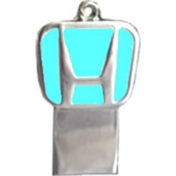 Оригинальная подарочная флешка Present ORIG157 64GB (флешка брелок Honda, без блистера)