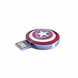 Оригинальная подарочная флешка Present ORIG178 04GB (щит Капитана Америка, без блистера)