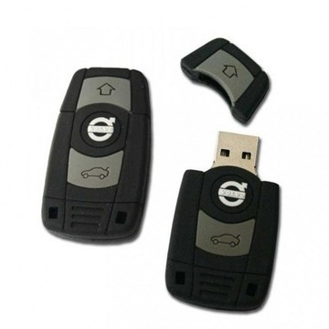 Оригинальная подарочная флешка Present ORIG185 128GB (ключ-брелок от Volvo, без блистера)