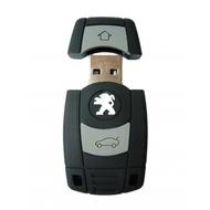 Оригинальная подарочная флешка Present ORIG192 128GB (ключ-брелок от Peugeot, без блистера)