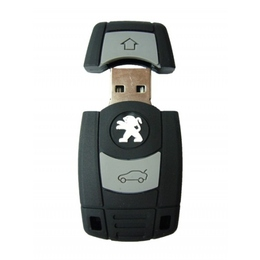 Оригинальная подарочная флешка Present ORIG192 08GB (ключ-брелок от Peugeot, без блистера)