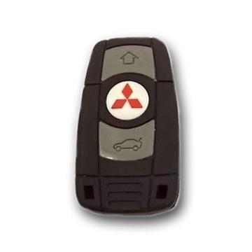 Оригинальная подарочная флешка Present ORIG198 128GB (ключ-брелок от Mitsubishi, без блистера)