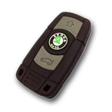 Оригинальная подарочная флешка Present ORIG201 16GB (ключ-брелок от Skoda, без блистера)