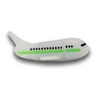 Оригинальная подарочная флешка Present ORIG218 64GB Green (самолет)