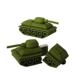 Оригинальная подарочная флешка Present ORIG219 04GB Green (танк)