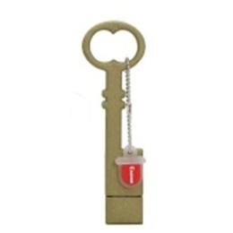 Оригинальная подарочная флешка Present ORIG228 16GB Brown (ключ)