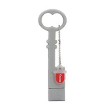 Оригинальная подарочная флешка Present ORIG228 04GB Grey (ключ)