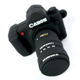 Оригинальная подарочная флешка Present ORIG23 128GB (флешка - зеркальный фотоаппарат Canon)