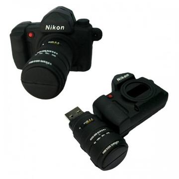 Оригинальная подарочная флешка Present ORIG23-2 08GB (флешка - зеркальный фотоаппарат Nikon, без блистера)
