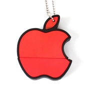 Оригинальная подарочная флешка Present ORIG28 128GB Red (знак Apple)