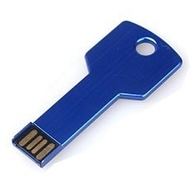 Оригинальная подарочная флешка Present ORIG36 32GB Blue (ключ-брелок, без блистера)