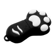 Оригинальная подарочная флешка Present ORIG58 04GB Black (кошачья лапка)
