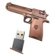 Оригинальная подарочная флешка Present ORIG69 04GB Bronze (пистолет ПМ)