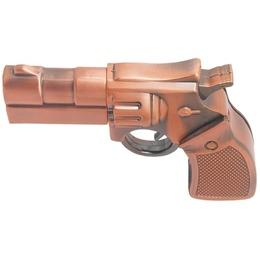 Оригинальная подарочная флешка Present ORIG73 08GB Bronze (револьвер, металл)