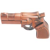 Оригинальная подарочная флешка Present ORIG73 16GB Bronze (револьвер, металл)