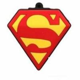 Оригинальная подарочная флешка Present ORIG91 4GB (значок супермена, без блистера)