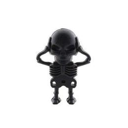 Оригинальная подарочная флешка Present SKL09 16GB (скелет со съемным черепом, без блистера)